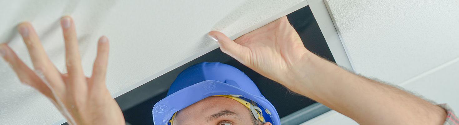 Cloison et plafond – Société de rénovation à Bruges