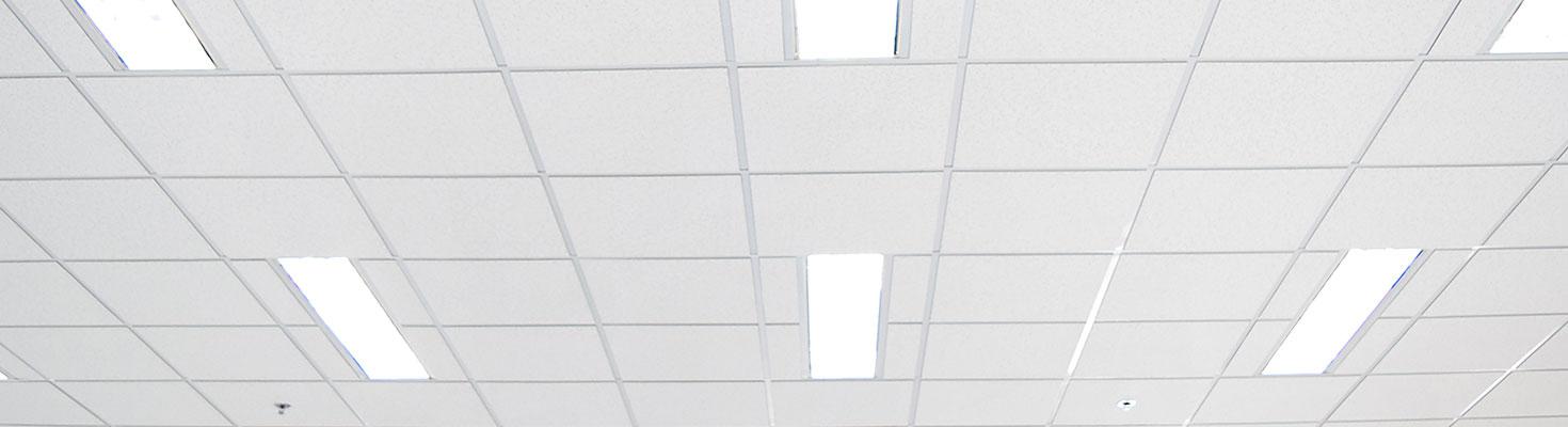 Les différents types de plafonds