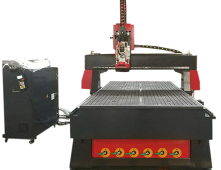 Fraiseuse CNC grand format 1325 changement d'outils automatique