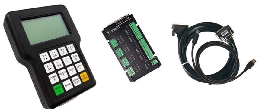 Système de contrôle DSP pour les CNC changement d'outils manuel