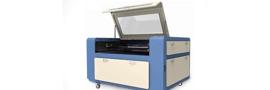 Machine de découpe et gravure laser CO2 Modèle: 1390