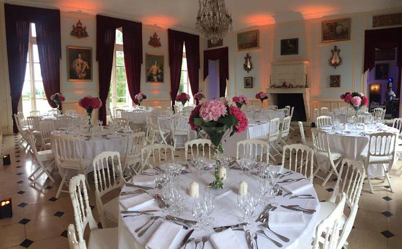Mariage et réception au château - Denonville (Eure-et-Loir)