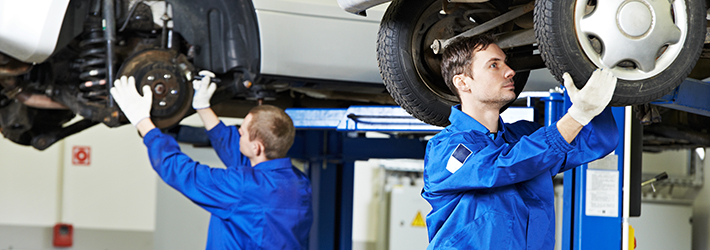 La réparation du système de freinage