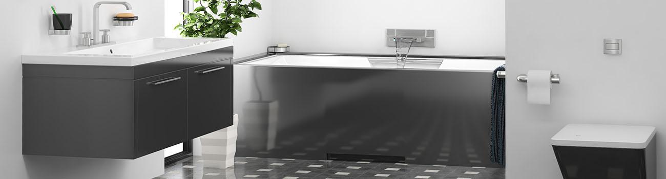 La création et la rénovation de salle de bains