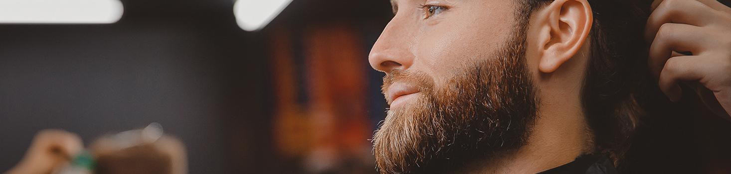 La taille et rasage de la barbe