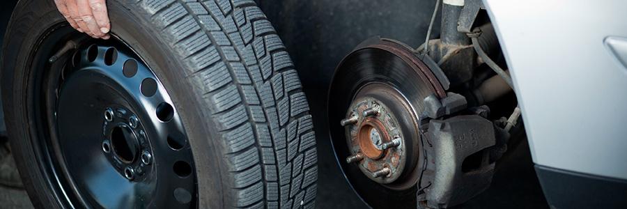Le changement et le montage des pneus