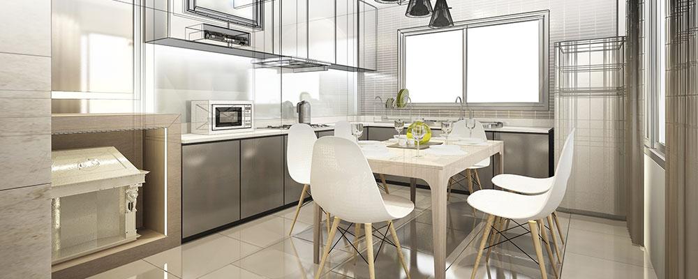 L'aménagement de la cuisine
