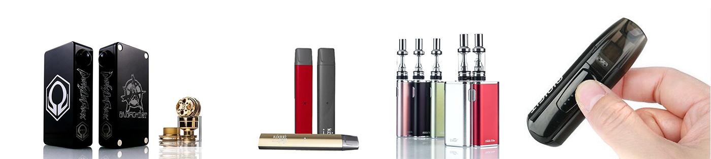 Les accessoires pour cigarettes électroniques