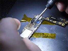 réparations en micro soudure