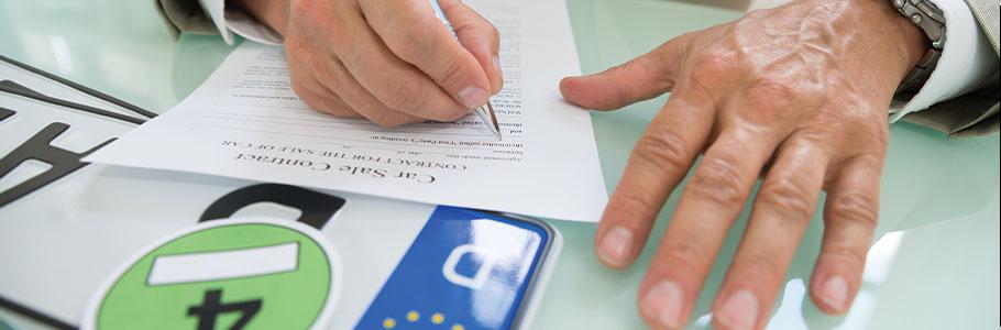 Les questions fréquentes sur la plaque d'immatriculation