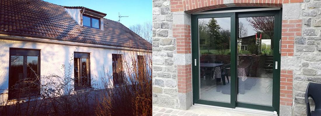 Fenêtre et baie vitrée – Menuisier à Hautmont
