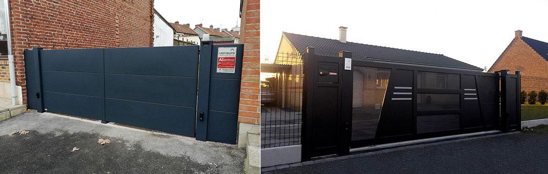 Portail et clôture – Menuisier à Hautmont