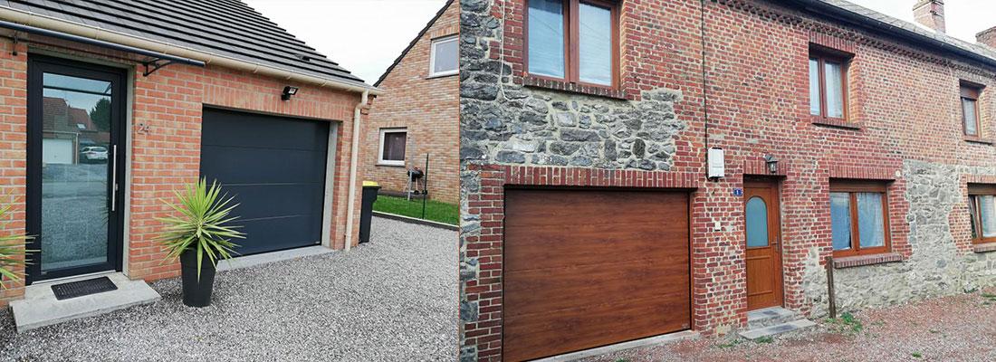 Porte de garage – Menuisier à Hautmont