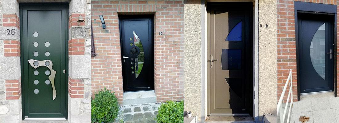 Porte d'entrée et porte d'intérieur– Menuisier à Hautmont