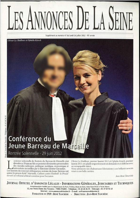 Conférence du jeune Barreau de Marseille