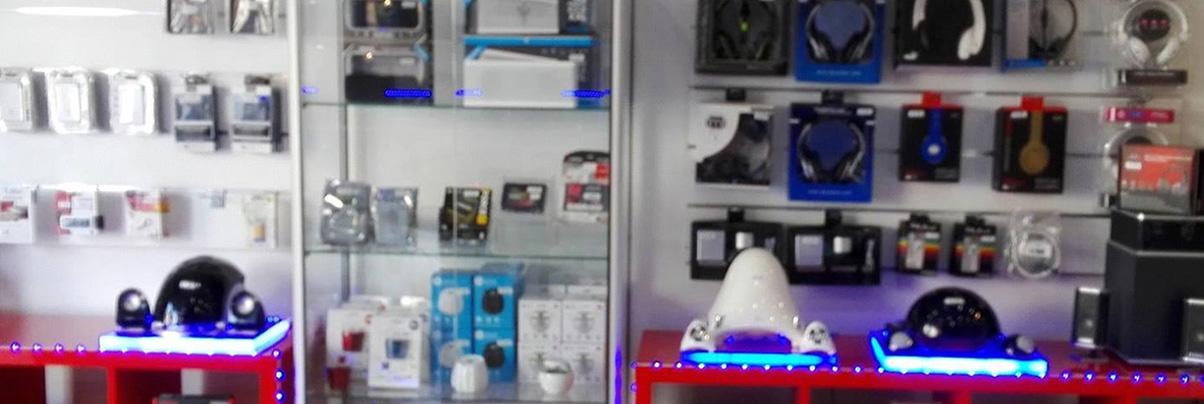 La vente d'accessoires multimédias