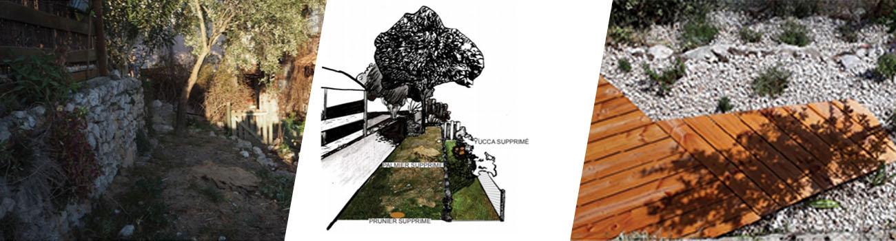 Création d'espaces verts
