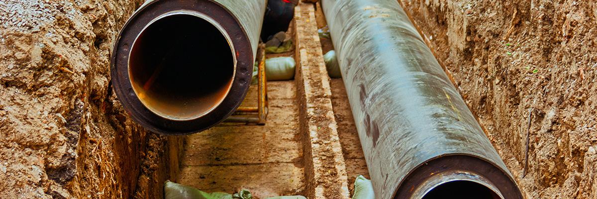 Installation et raccordement de la canalisation
