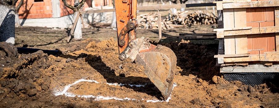 Travaux de terrassement et fondations à Moissy-Cramayel
