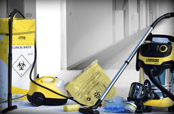 Le nettoyage de scène de crime