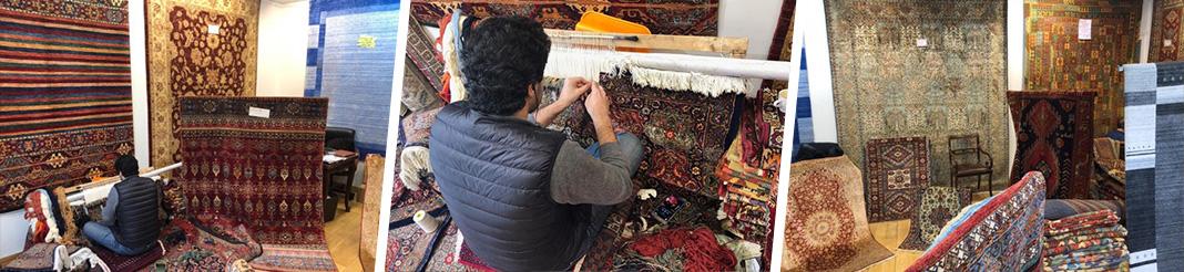 Nettoyage et restauration de tapis à Paris