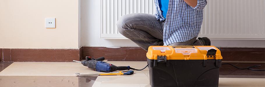 Installation de pompe à chaleur air eau