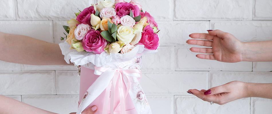 Les bouquets de fleurs fraîches