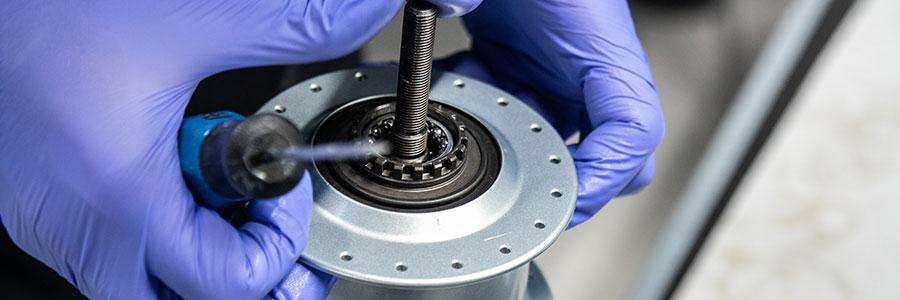 La réparation des éléments mécaniques