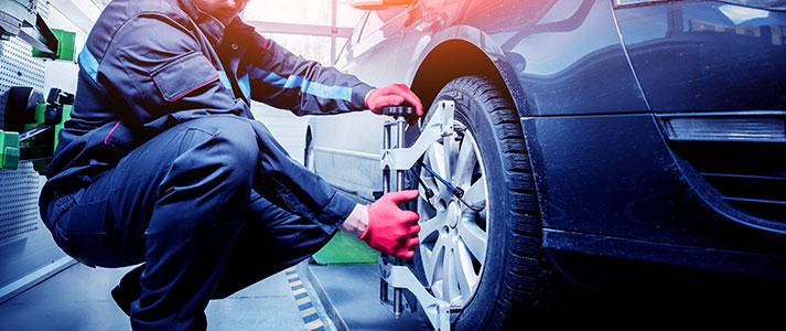 Atelier pneumatiques - Garage Renault à Beugnies