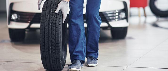 Les réglages des roues et pneus