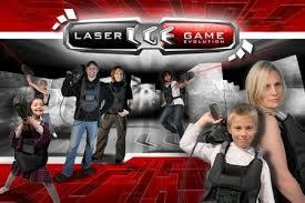 L'esprit du jeu «Laser Game Evolution»