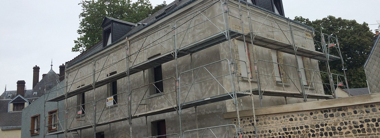 La préparation des façades