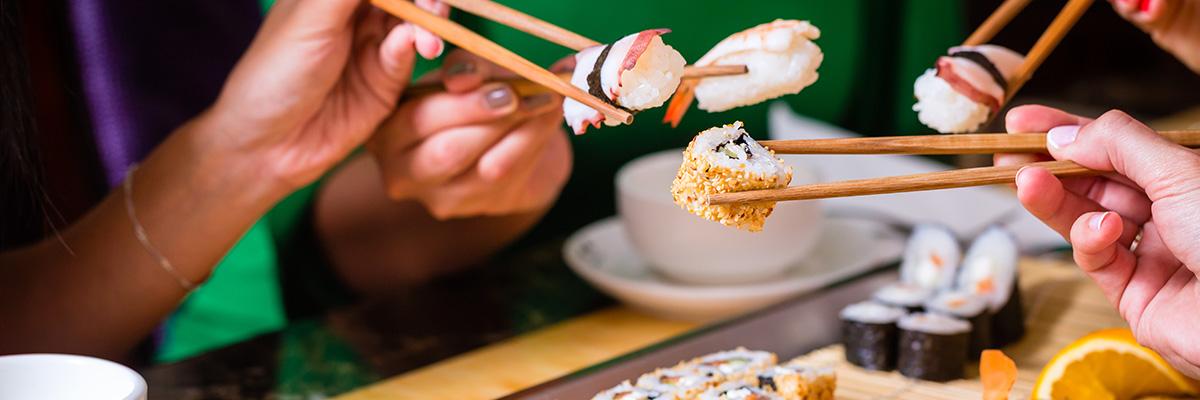 Carte et menus du restaurant japonais