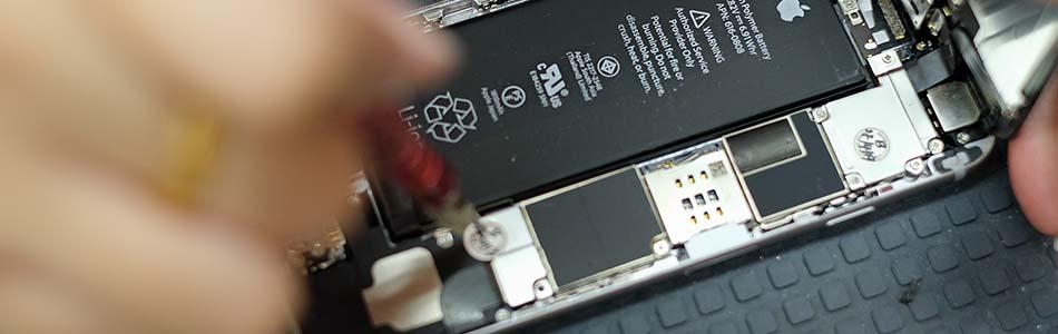 La réparation de téléphone immergé