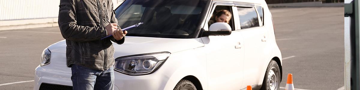 L'examen pratique du permis de conduire
