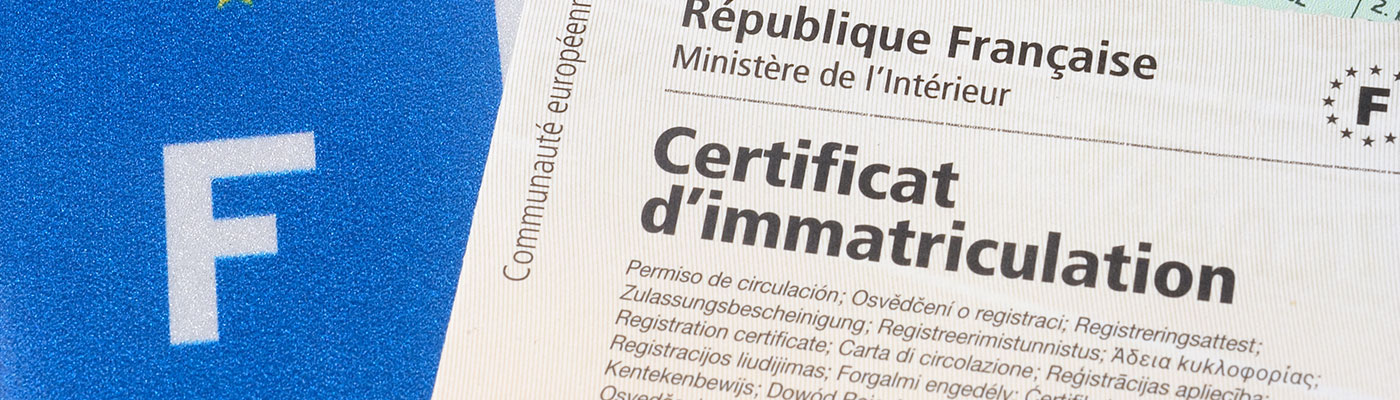Carte grise à Haguenau – Démarches immatriculation