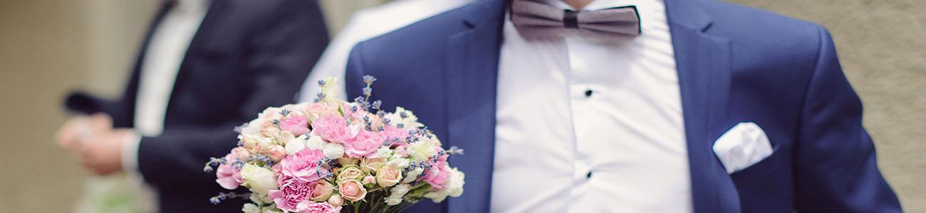 Les costumes pour le marié