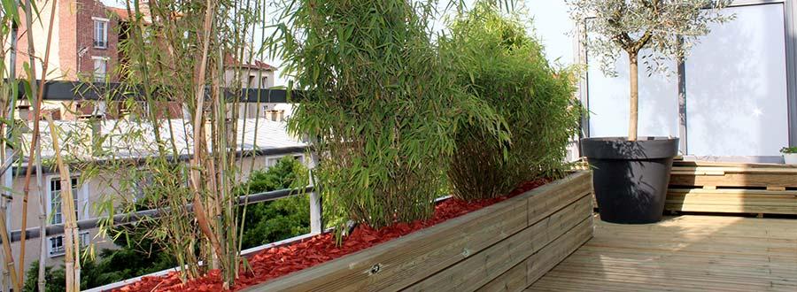 Le revêtement de terrasse