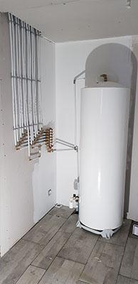 Installation et raccordement des équipements sanitaires