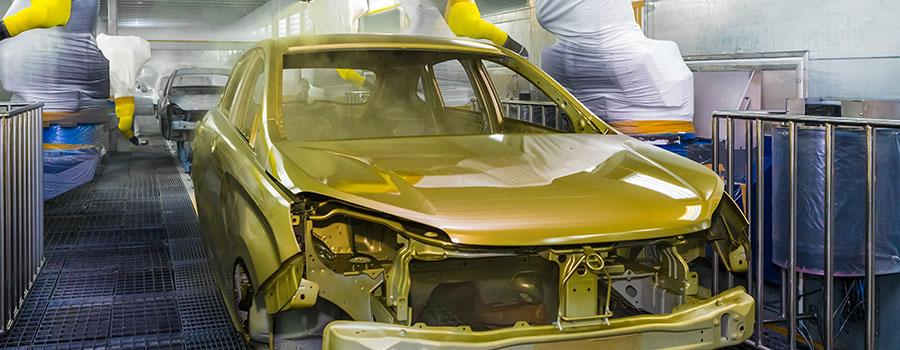 La réparation et le changement d'élément de carrosserie
