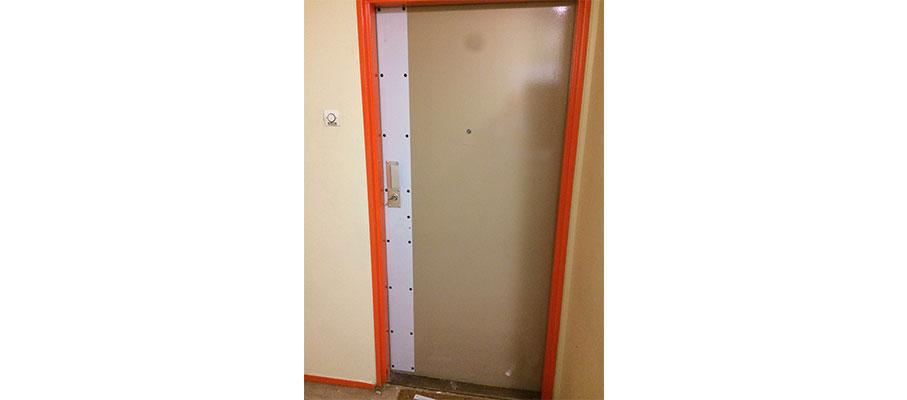 L'installation et le dépannage de porte blindée