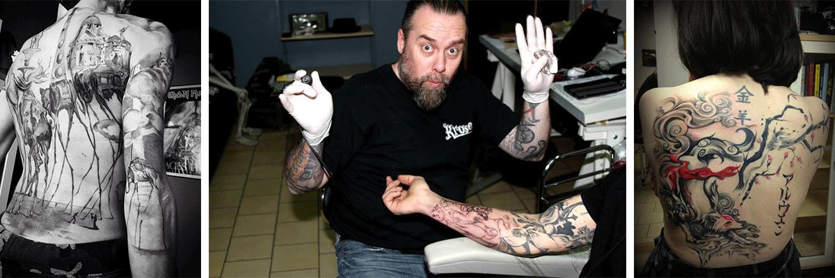 Le nettoyage du tatouage après sa réalisation