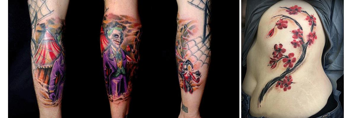 Les styles de tatouage