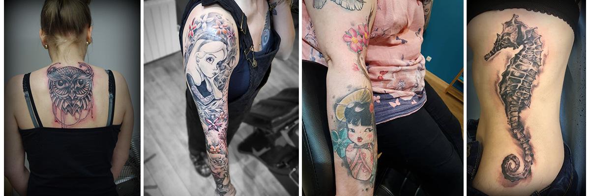 Le tattoo cover