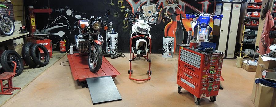 L'entretien de moto et scooter