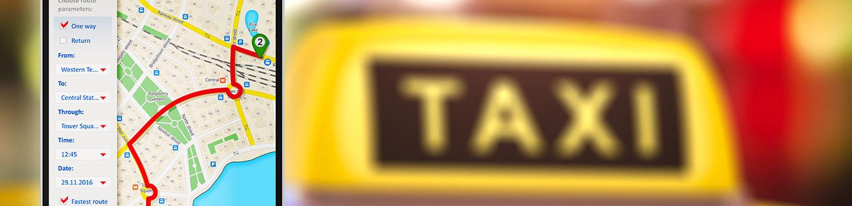 logiciel spécifique Taxi