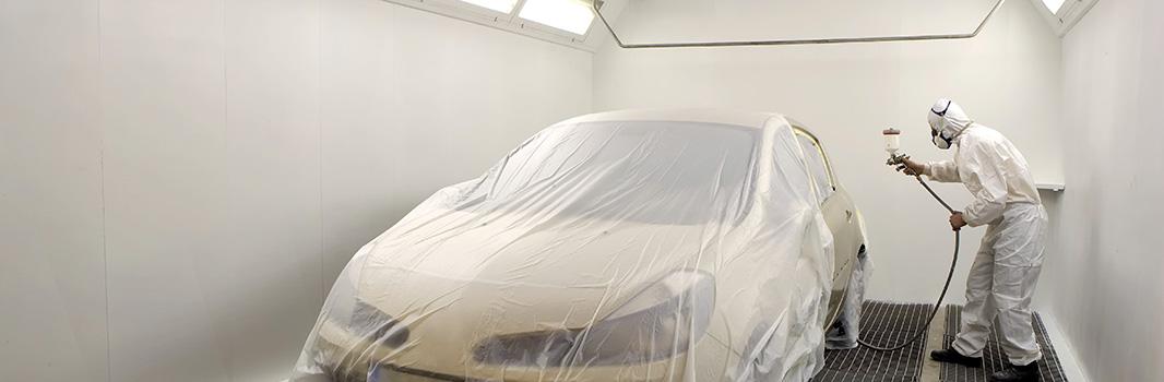 Atelier peinture - Garage automobile à Fontenay-sur-Eure