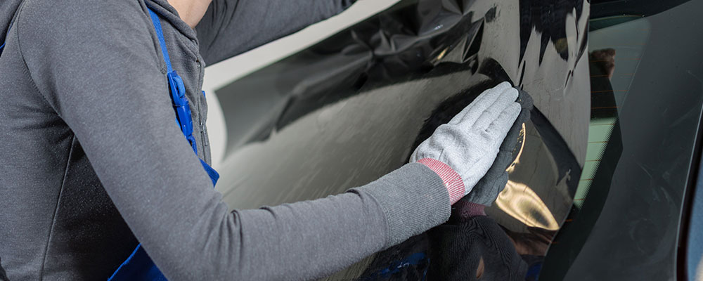 La pose de vitre teintée auto