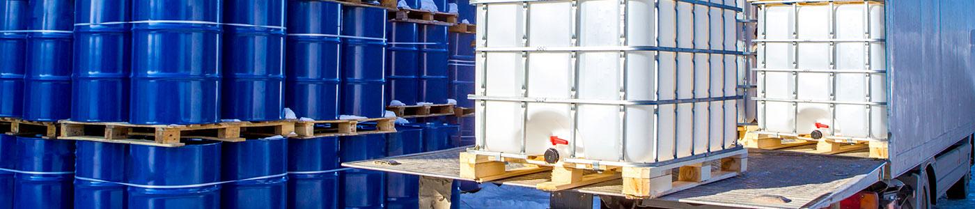 Transport de produits chimiques non dangereux