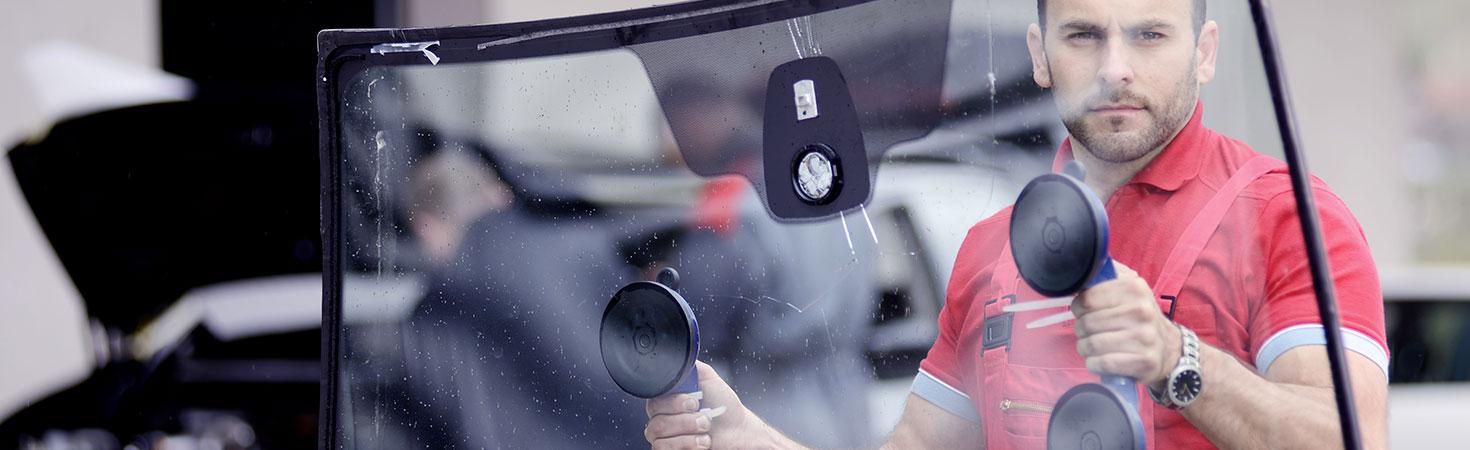 Remplacement de vitrage à Évry - Station de vitrage mobile
